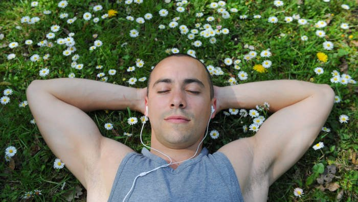 Musik wirkt entspannend, ist gut für die Regeneration