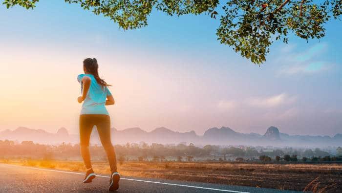 Frühsport - Laufen am frühen Morgen
