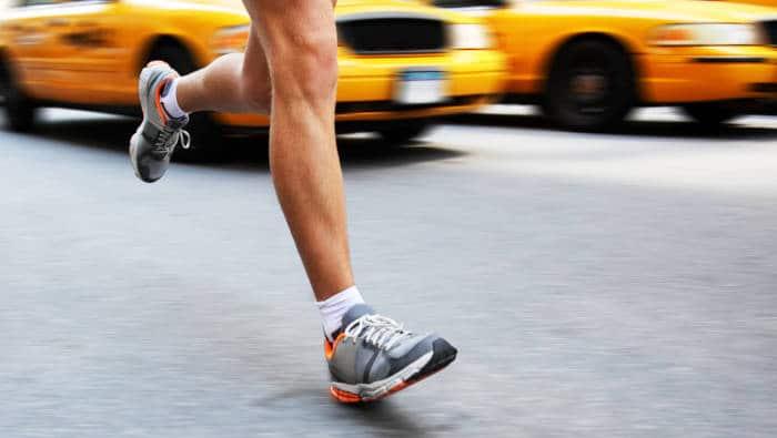 Rückfuß-Laufstil - braucht Laufschuhe mit guter Dämpfung