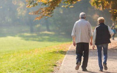 Fitness für Ältere: Bewegung an der frischen Luft