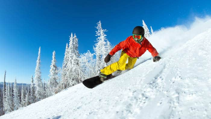 Snowboarden oder Snowboarding