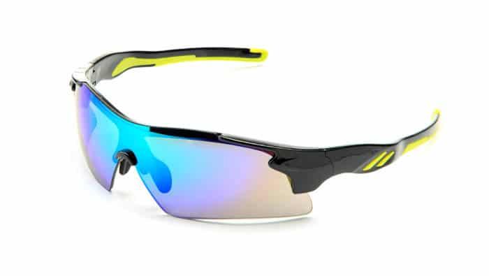 Sportbrille zum Rad fahren