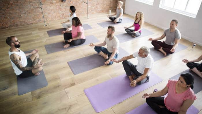 entspannungstrainer yoga kurs
