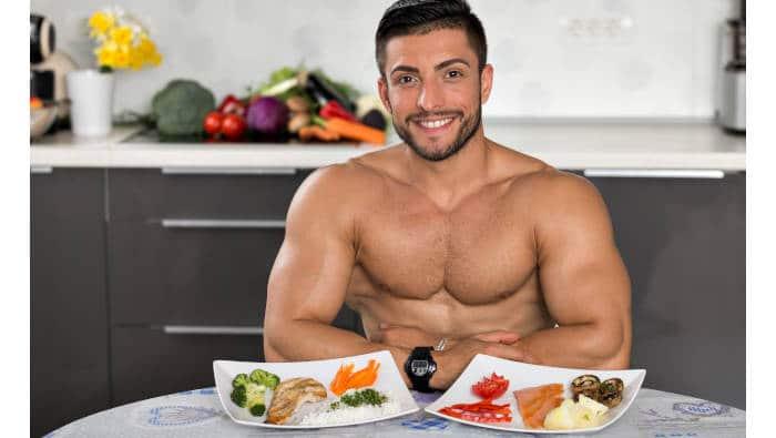 Ernährung zum Muskelaufbau - selbst zubereitet