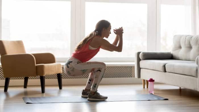 Fitness zuhause braucht keine Geräte