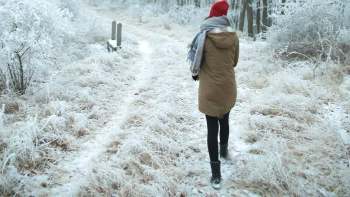 Gute Vorsätze zum Neuen Jahr - erstmal ein Spaziergang
