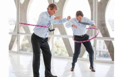Hula Hoop für die schlanke Taille