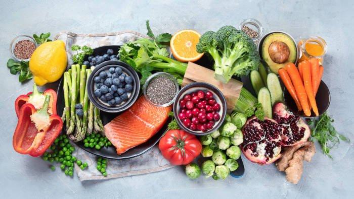Sporternährung - gesunde Vielfalt